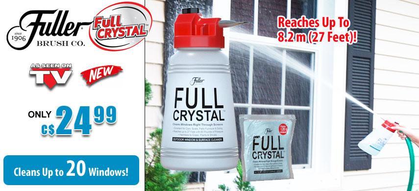 Fuller Full Crystal Window Cleaner
