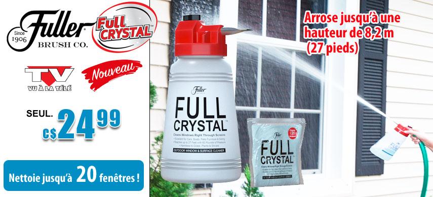 Nettoyant pour les fenêtres Full Crystal