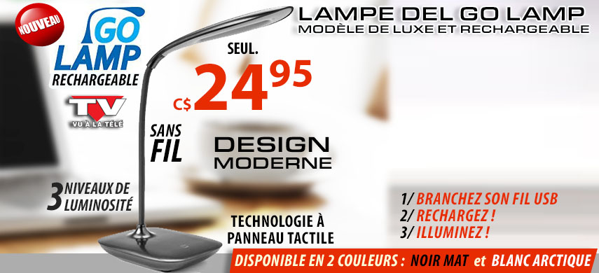 Lampe Go Lamp Rechargeable