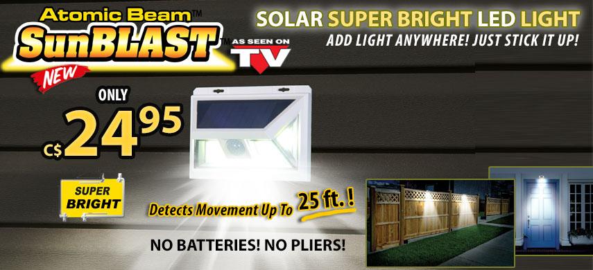 Sunblast Solar Light