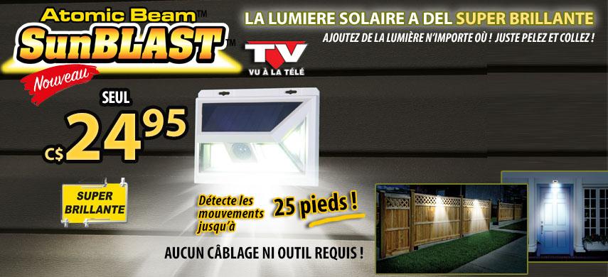 Lumière Solaire Sunblast